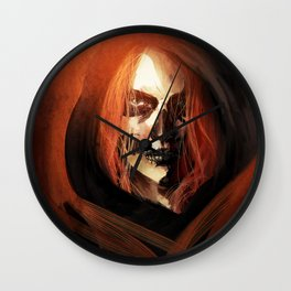 Ghost from the Past Wall Clock