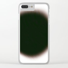 Paw Print Clear iPhone Case