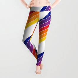 Rainbow Candy Stripe Leggings