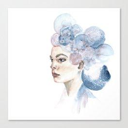 Bubble Face I Canvas Print
