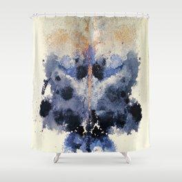 Victorian Inkblot Shower Curtain