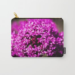 Pink Valerian Carry-All Pouch