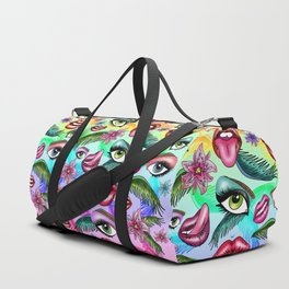 Realm Of Senses Duffle Bag