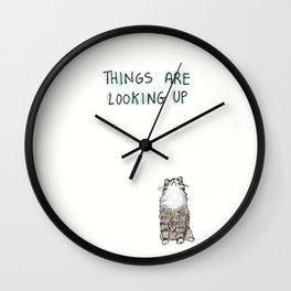 Optimisticat Wall Clock