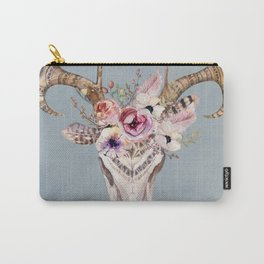 Deer Skull 2 Carry-All Pouch