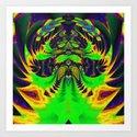 Rainbow Winged Serpent by webgrrl