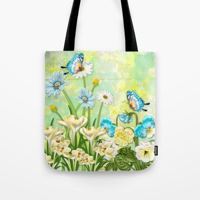 Butterflies in Spring Tote Bag