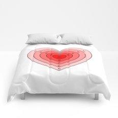 Heart target Comforters