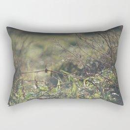 Light on Grass Rectangular Pillow