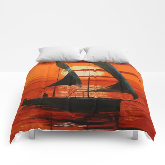 On the Sunset Comforters