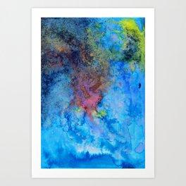 Blues Art Print