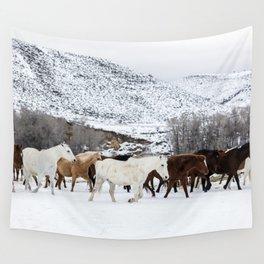 Carol Highsmith - Wild Horses Wall Tapestry