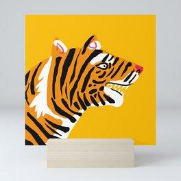 wild jungle cat - 1 Mini Art Print