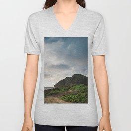 Makapu'u Point Lighthouse Unisex V-Neck