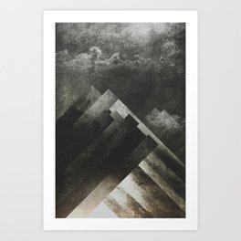Mount everest and me Art Print