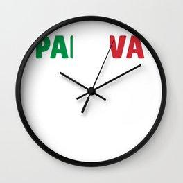 Padova Italy flag holiday gift Wall Clock