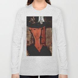 "Amedeo Modigliani ""Madame Pompadour"" Long Sleeve T-shirt"