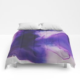 Violet Aura Comforters
