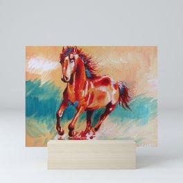 Runing Horse Mini Art Print