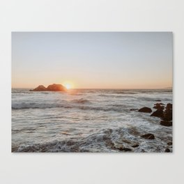 summer sunset iii Canvas Print