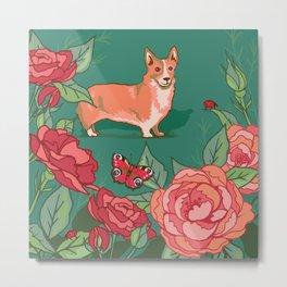 Windsor Rose Garden Metal Print