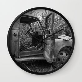 Old Chevy Truck II Wall Clock