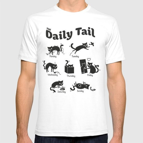 The Daily Tail Cat T-shirt