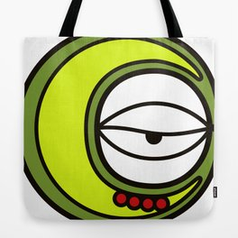Moon Goddess with Coffee Leaf Eye-lash [Spa Ixchel] Tote Bag