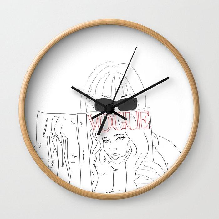 Voguestagram Anna Wintour Wall Clock