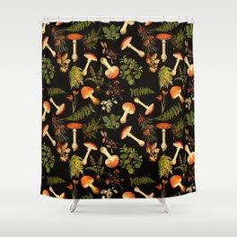 Vintage & Shabby Chic - Night Forest Garden Shower Curtain