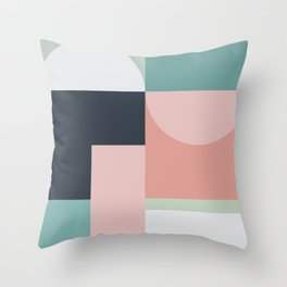 Abstract Geometric 06 Throw Pillow