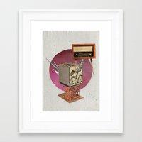 walrus Framed Art Prints featuring Walrus by Imanol Buisan