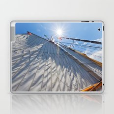 White Sails and Sunshine Laptop & iPad Skin
