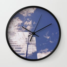 No Stopping The Sky Wall Clock