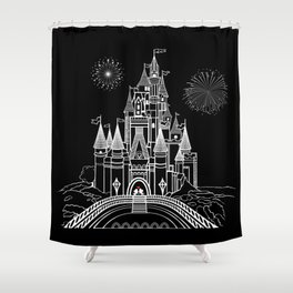 Little Mouse in Love Shower Curtain
