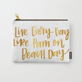 Pam Beesly Print Carry-All Pouch