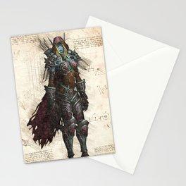 Sylvanas Windrunner Dark Lady night elf rougue sketch Stationery Cards
