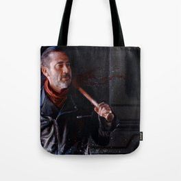 Negan And Lucille - The Walking Dead Tote Bag