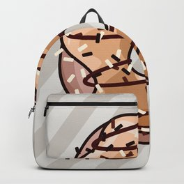 Toffee and Chocolate Donut Backpack