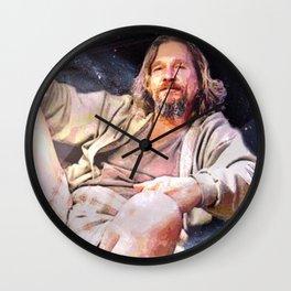 HIS DUDENESS, DUDER, OR EL DUDERINO Wall Clock