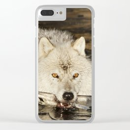 Weapon for a cold war Clear iPhone Case