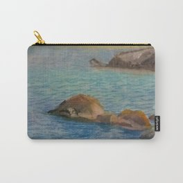 Rock in the middle of sea Carry-All Pouch