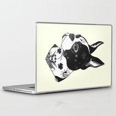Dog - Tattooed BostonTerrier Laptop & iPad Skin