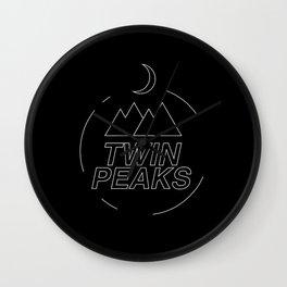Twin Peaks simbol Wall Clock