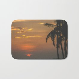 Sunset beach. San Blas, Panama Bath Mat