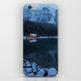 Lake Louise Cabin iPhone Skin