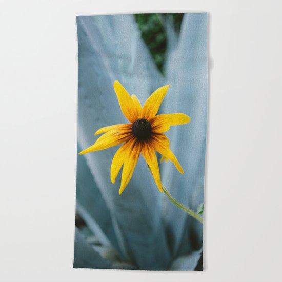 Austin Flower II Beach Towel