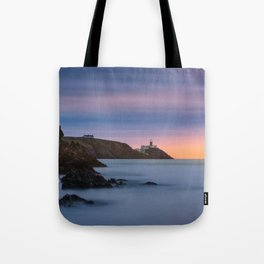 Howth lighthouse - Ireland (RR200) Tote Bag