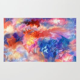 Pastel Storm by Spano  Rug