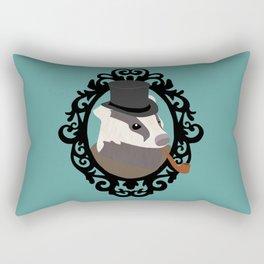 Dapper Badger Rectangular Pillow